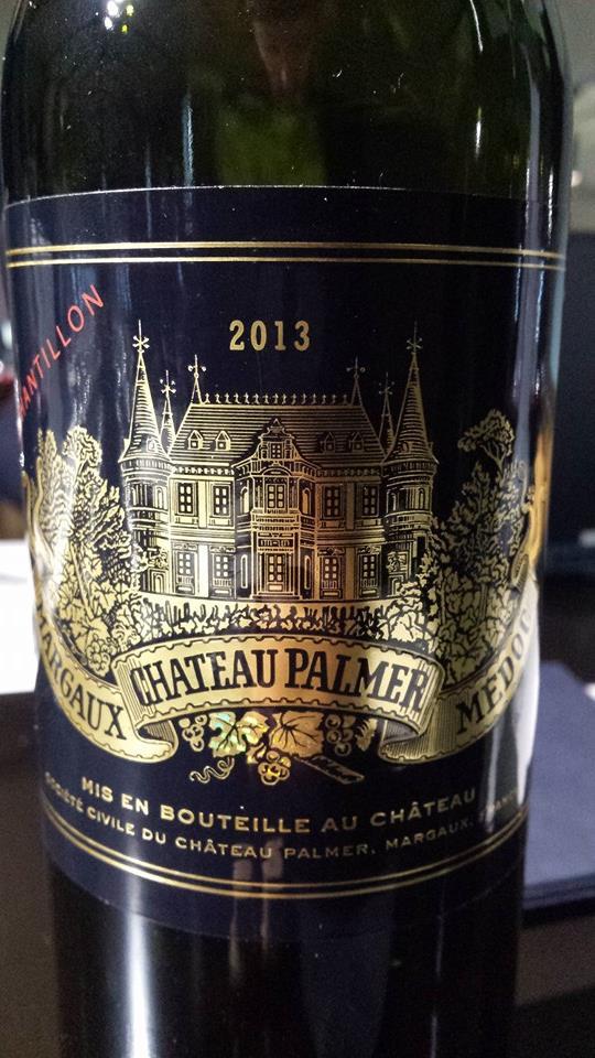 Château Palmer 2013 – 3ème Cru Classé, Margaux