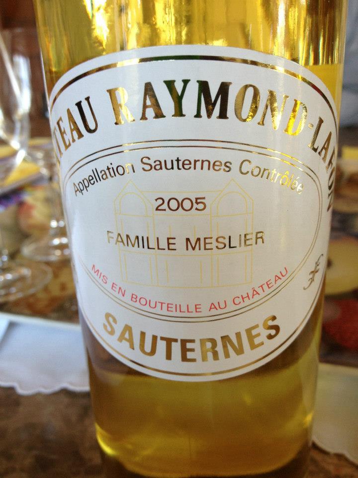 Château Raymond-Lafon 2005 – Sauternes