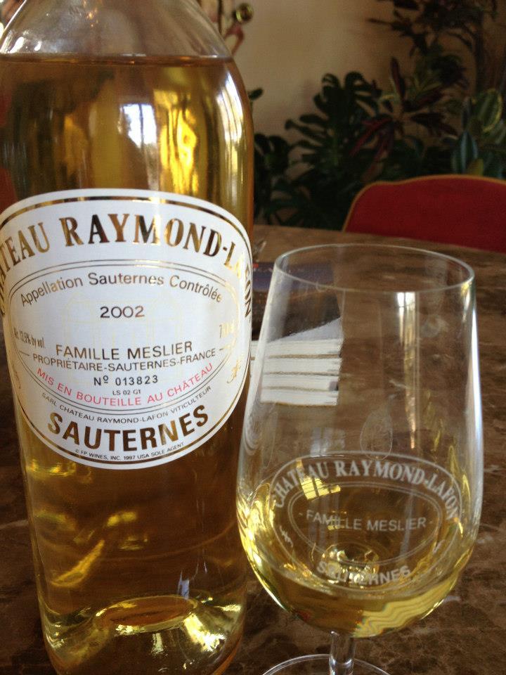 Château Raymond-Lafon 2002 – Sauternes