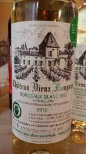 Château Vieux Mougnac 2012 – Bordeaux Blanc