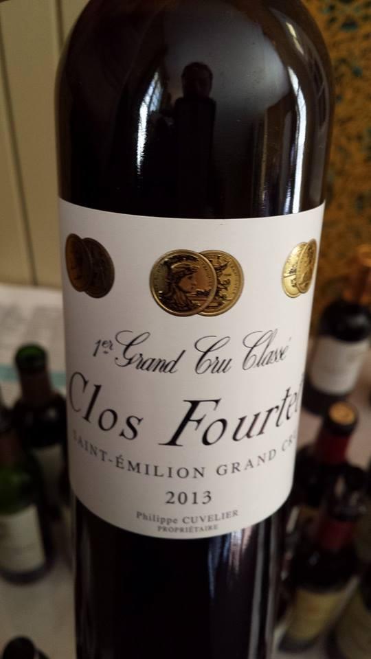 Clos Fourtet – 1er Grand Cru Classé B de Saint-Emilion – 2013