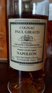Cognac Paul Giraud – Napoléon – 15 years old – Grande Champagne – 1er Cru de Cognac