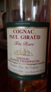 Cognac Paul Giraud – XO Très Rare – 50 years old (1962) – Grande Champagne – 1er Cru de Cognac