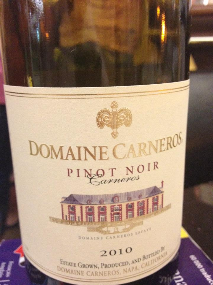 Domaine Carneros by Taittinger – Pinot Noir 2010
