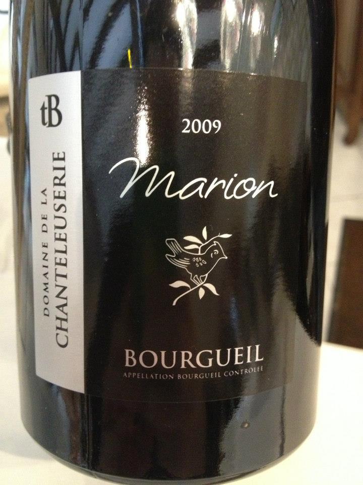Domaine de la Chanteleuserie – Marion 2009 – Bourgueil