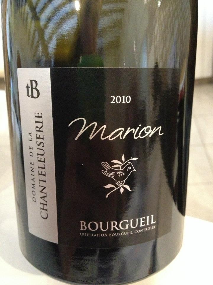 Domaine de la Chanteleuserie – Marion 2010 – Bourgueil