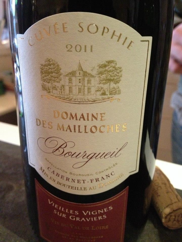 Domaine des Mailloches – Cuvée Sophie 2011 – Bourgueil