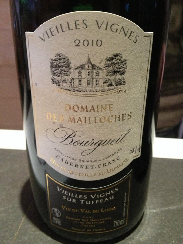 Domaine des Mailloches – Vieilles Vignes 2010 – Bourgueil