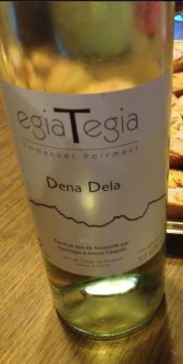 EGIATEGIA – Dena Dela 2011 – Vin de Table de France (Emmanuel Poirmeur)