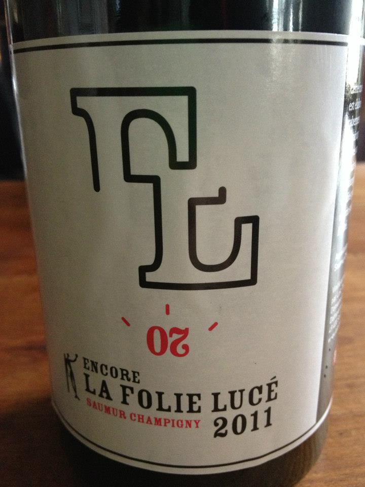 La folie Lucé – ENCORE 2011 – Saumur Champigny