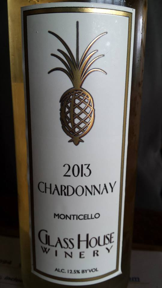Glass House Winery – Chardonnay 2013 – Monticello