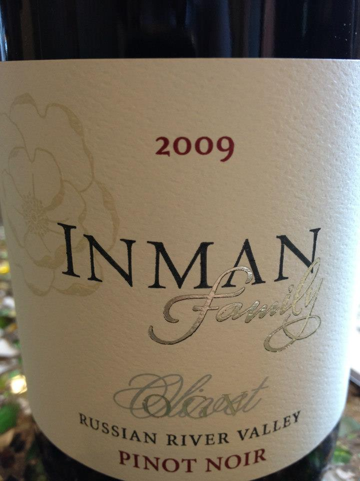Inman Family – Pinot Noir – O.G.V. 2009 – Russian River Valley – Sonoma
