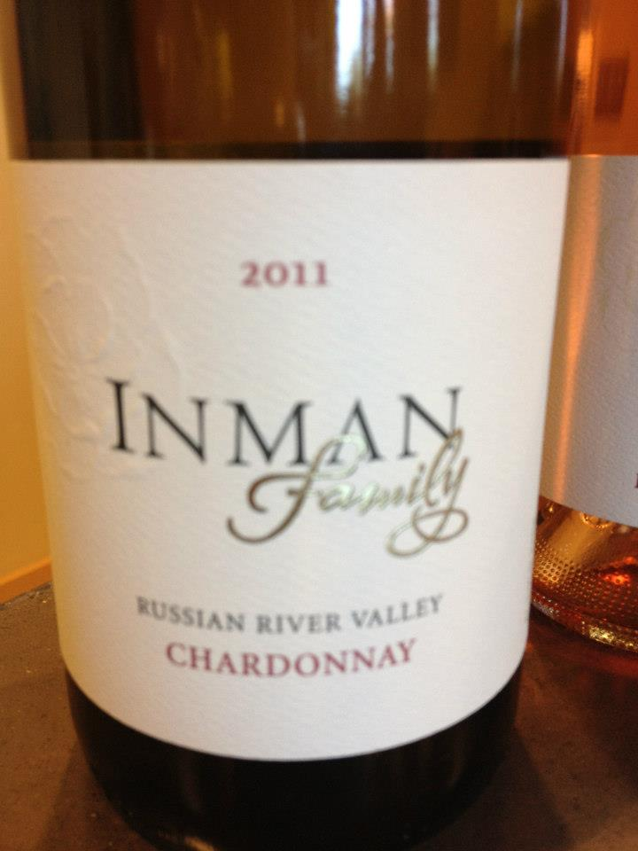 Inman Family – Chardonnay 2011 – Russian River Valley – Sonoma