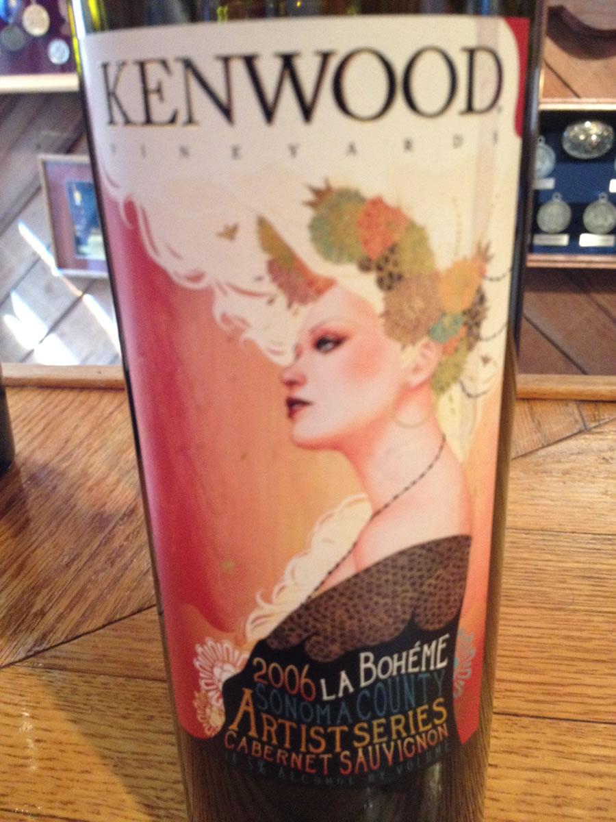Kenwood Winery – Cabernet Sauvignon 2006 – Sonoma County