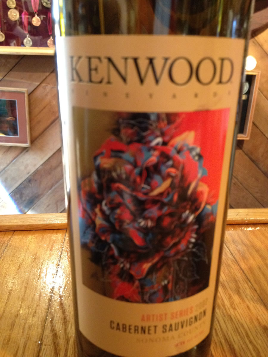 Kenwood Winery – Cabernet Sauvignon 2007 – Sonoma County