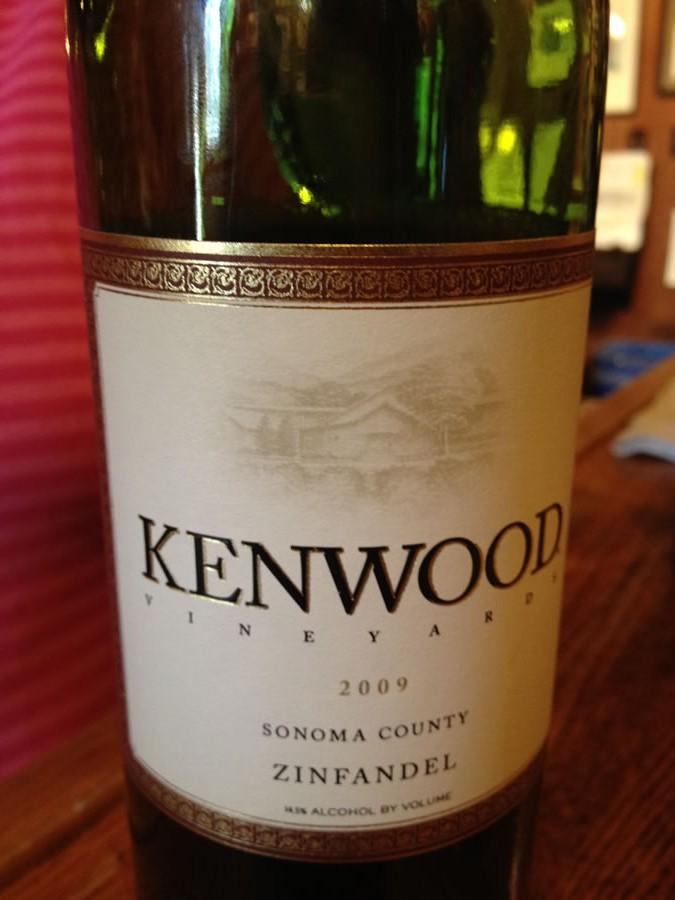 Kenwood Winery – Zinfandel 2009 – Sonoma County