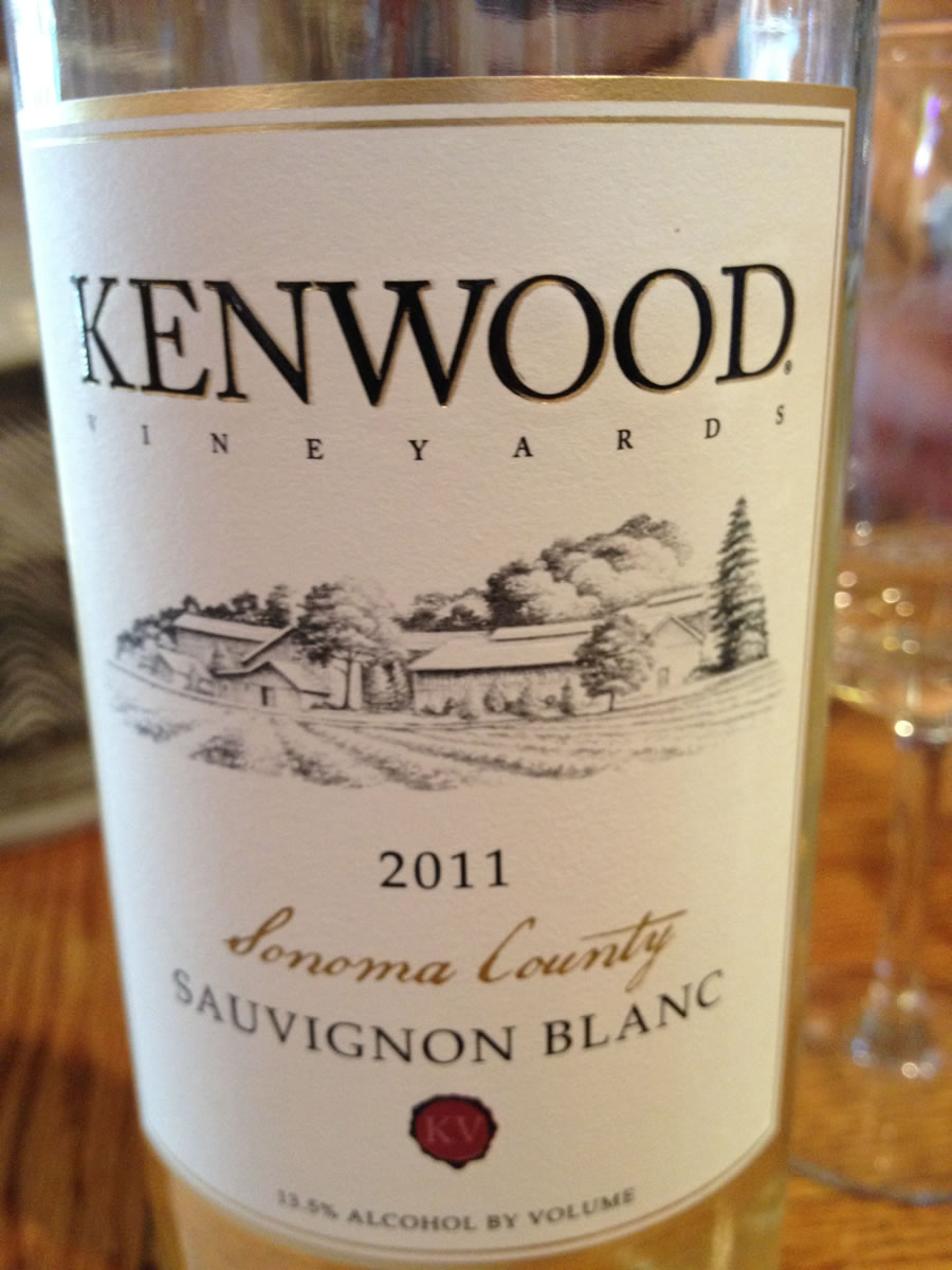 Kenwood Winery – Sauvignon Blanc 2011 – Sonoma County