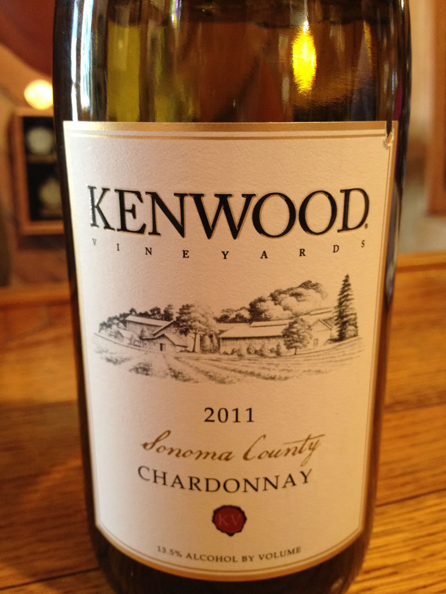 Kenwood Winery – Chardonnay 2011- Sonoma County