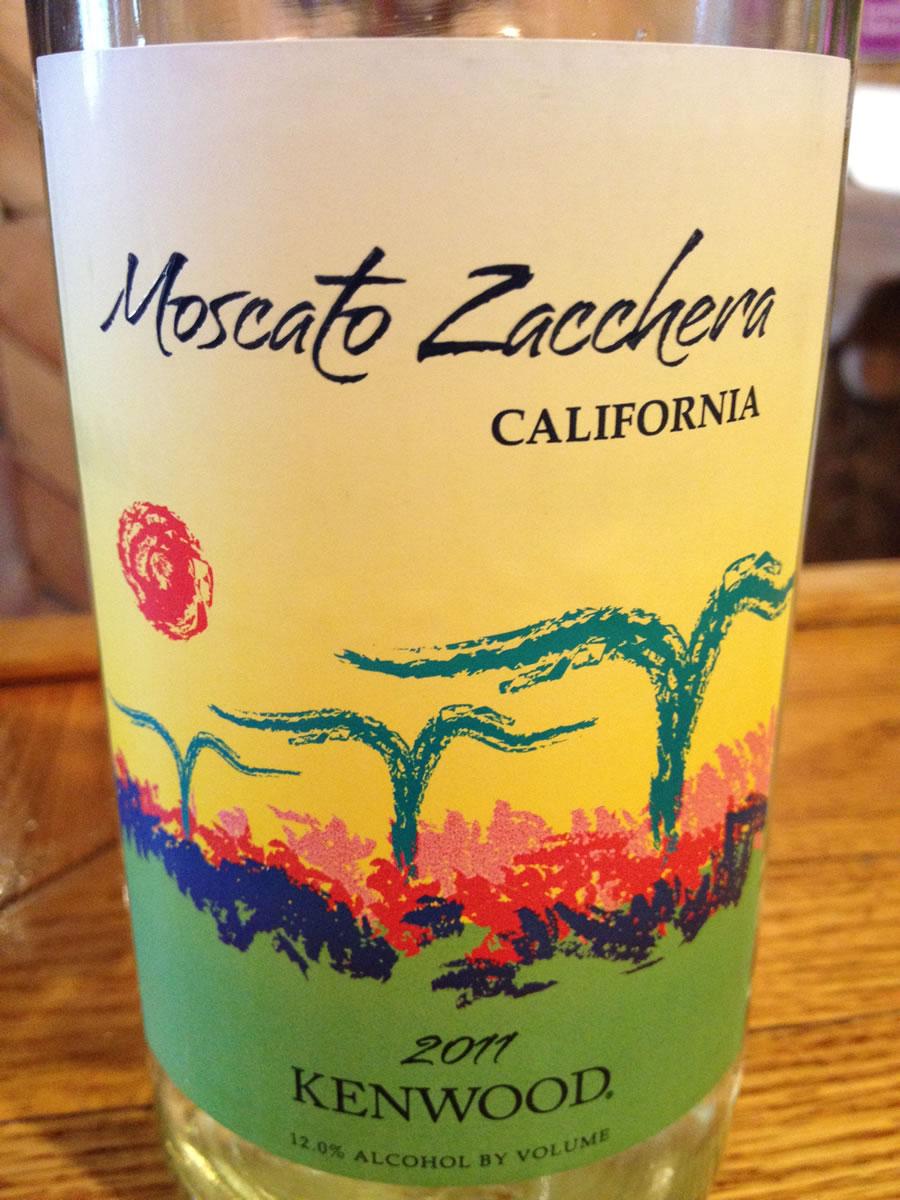 Kenwood Winery – Moscato Zacchera 2011 (California)
