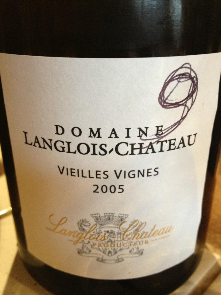 Domaine Langlois-Chateau – Vieilles Vignes 2005 – Saumur