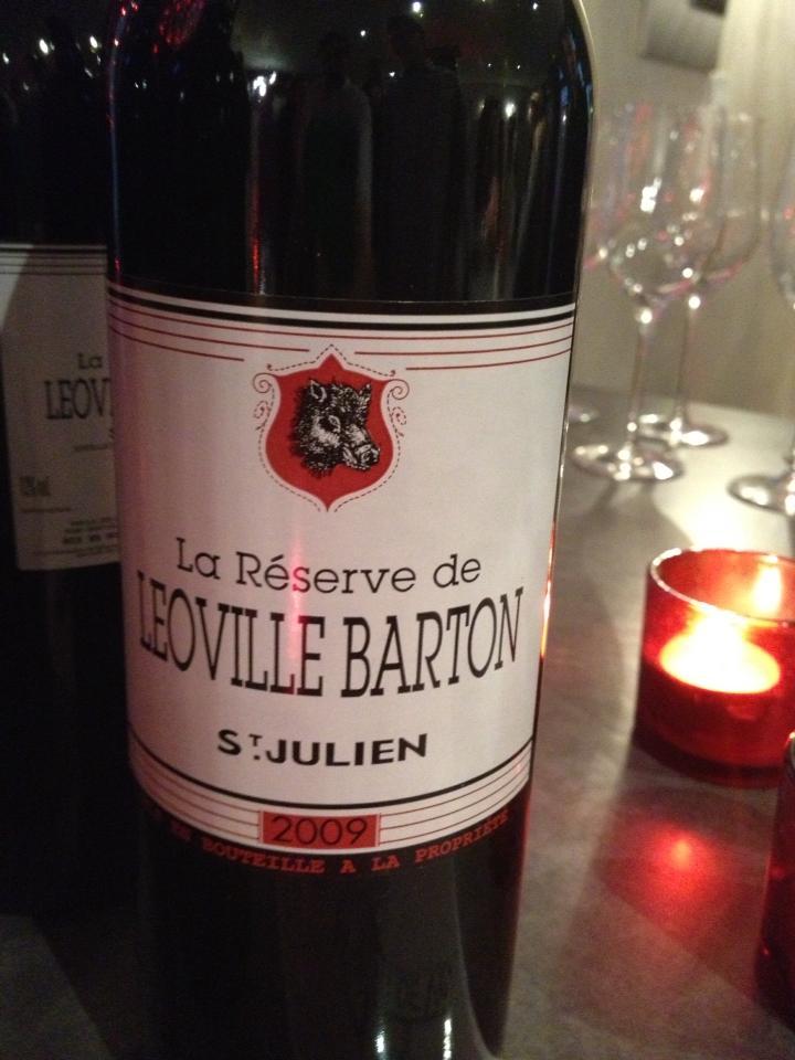 La Réserve de Léoville Barton 2009 – Saint-Julien