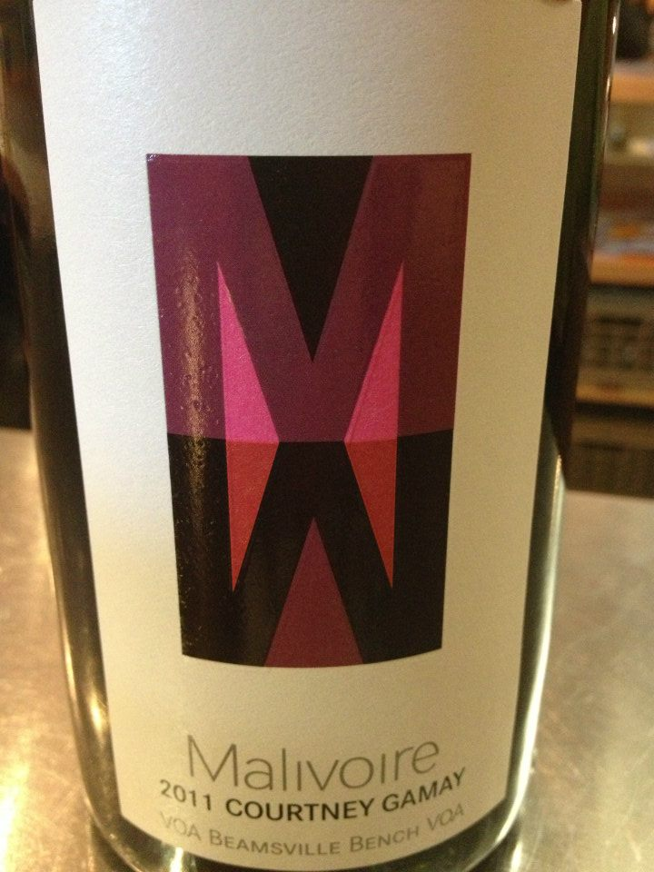 Malivoire Winery – Courtney Gamay 2011 – VQA Beamsville Bench VQA