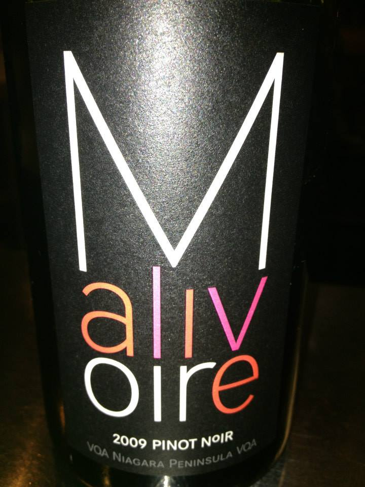 Malivoire Winery – Pinot Noir 2009 – VQA Niagara Peninsula VQA