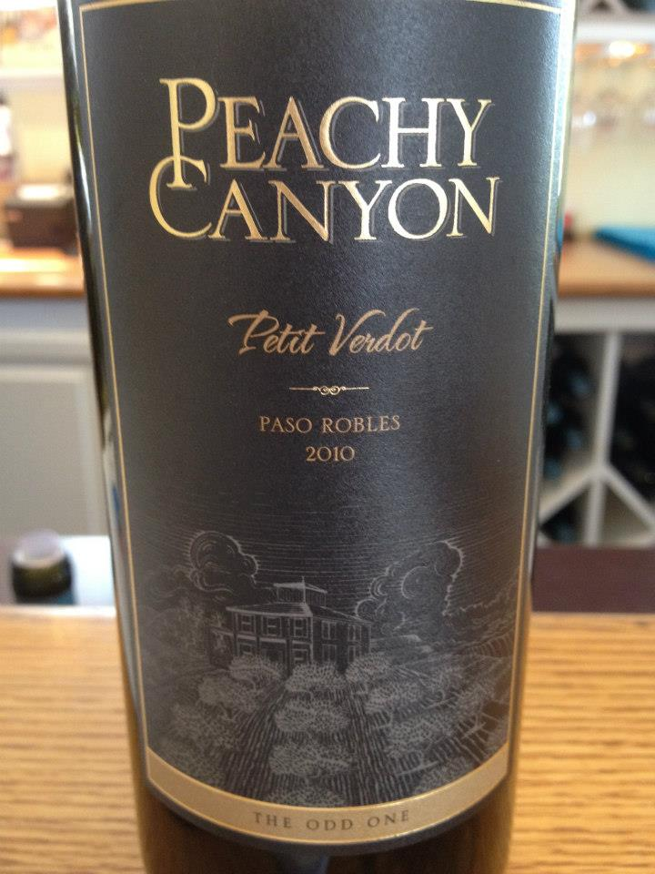 Peachy Canyon Winery – Petit Verdot 2010 – Paso Robles