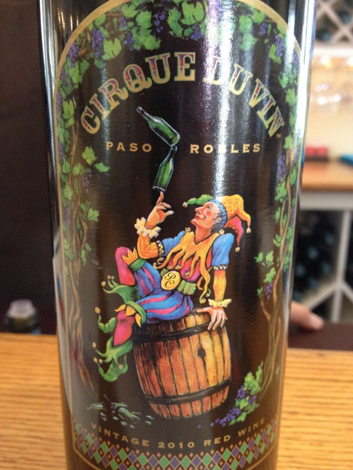 Peachy Canyon Winery – Cirque du Vin 2010 – Paso Robles