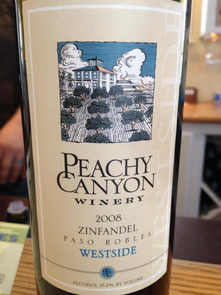 Peachy Canyon Winery – Zinfandel 2008 – Westside – Paso Robles