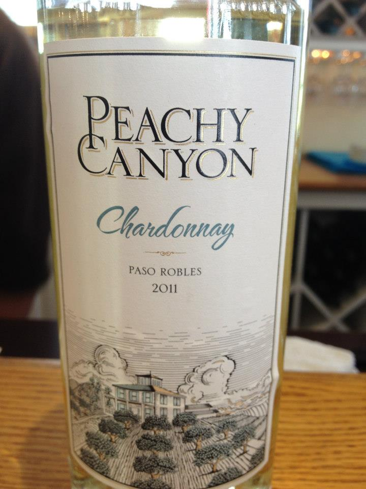 Peachy Canyon Winery – Chardonnay 2011 – Paso Robles