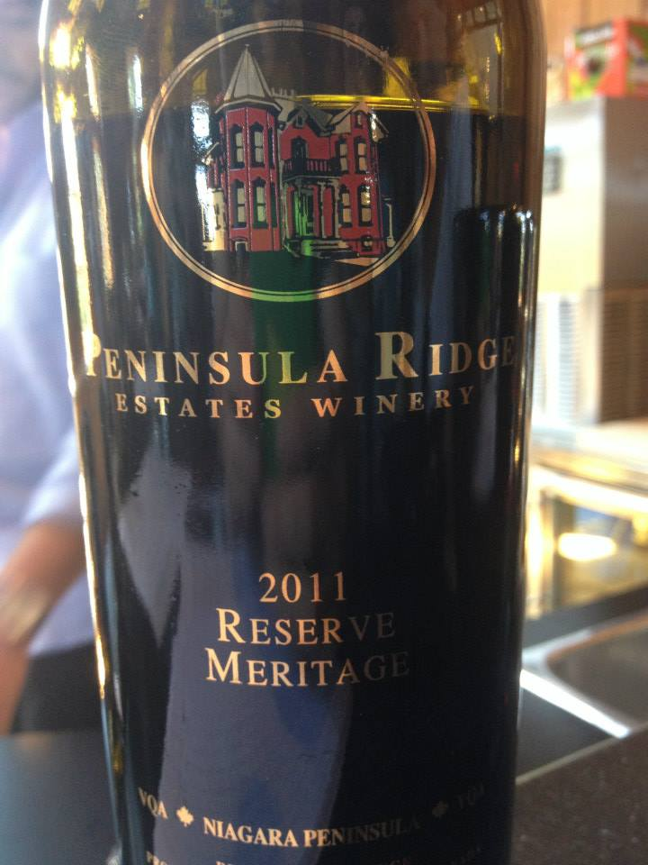Peninsula Ridge Estates Winery – Reserve Meritage – 2011 – VQA Niagara Peninsula VQA