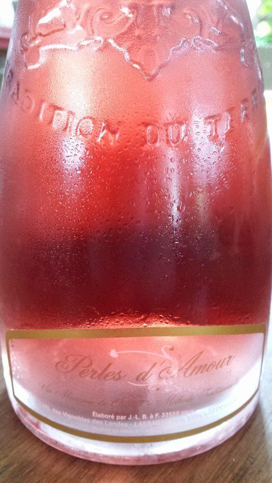 Perles d'Amour – Rosé Brut – Méthode traditionnelle – Crémant de Bordeaux