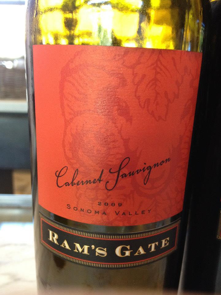 Ram's Gate Winery – Cabernet Sauvignon 2009 – Sonoma