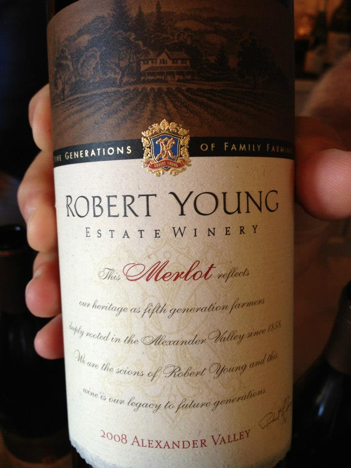 Robert Young – Merlot 2008 – Alexander Valley – Sonoma
