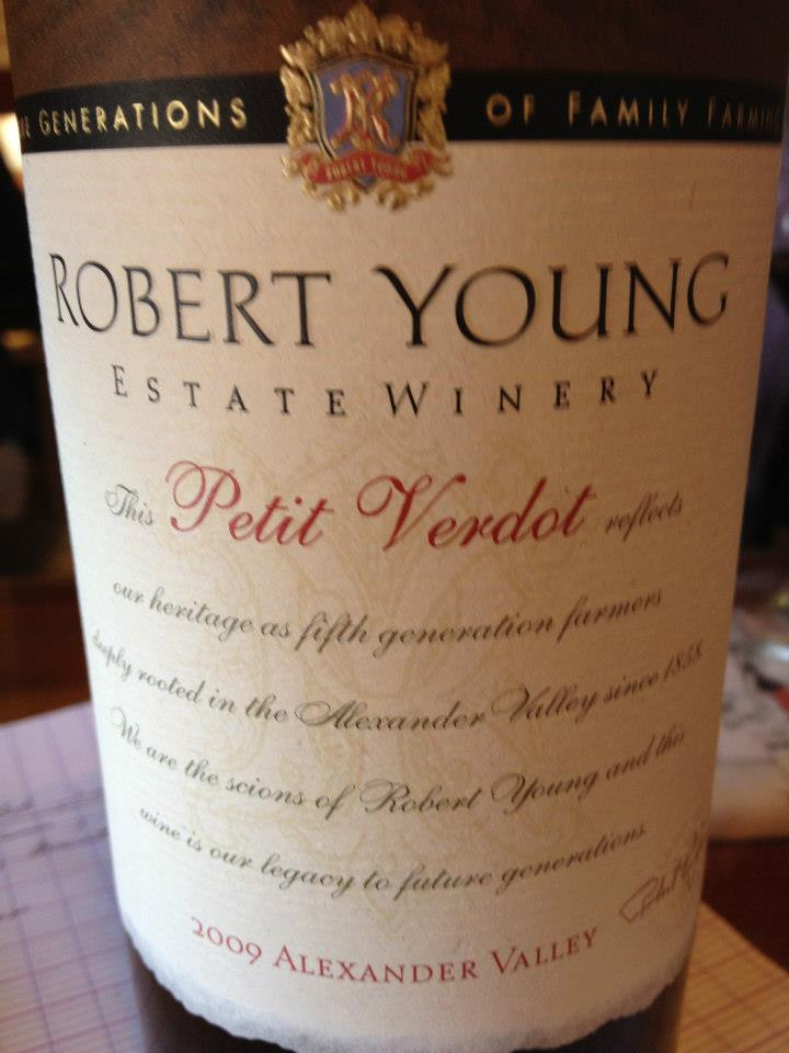 Robert Young Petit Verdot 2009 – Alexander Valley – Sonoma