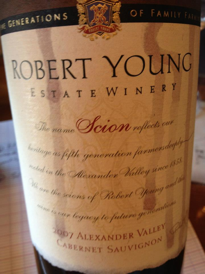 Robert Young – Scion – Cabernet Franc – 2007 – Alexander Valley – Sonoma
