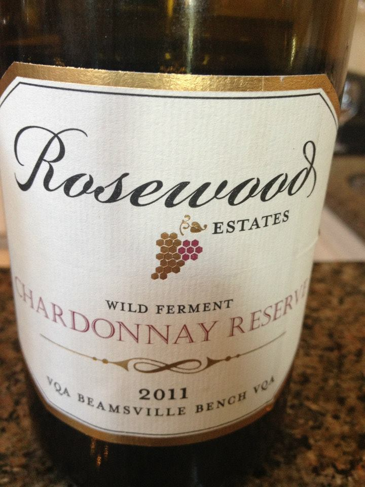 Rosewood Estates Winery – Chardonnay Reserve 2011 – Beamsville Bench