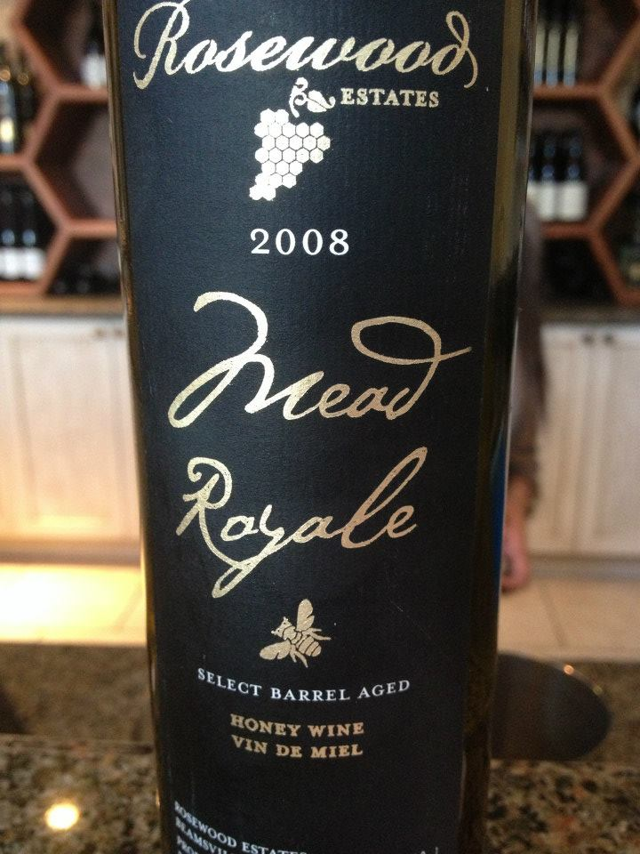 Rosewood Estates Winery – Mead Royale 2008 (Select Barrel Aged) – Honey Wine / Vin de Miel
