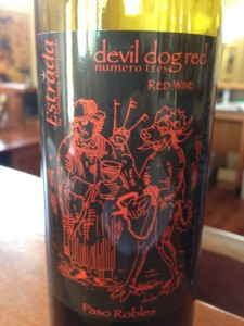 Salisbury Vineyards – Devil dog numero tres (Estrada Vineyards) – Paso Robles