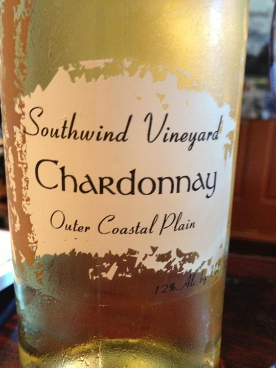 Southwind Vineyard & Winery – Chardonnay 2012 – Outer Coastal Plain