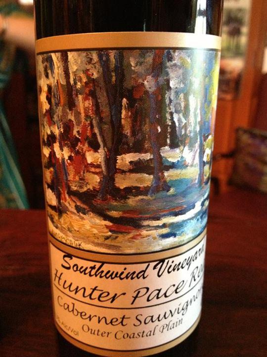 Southwind Vineyard & Winery – Hunter Pace – Cabernet Sauvignon 2012 – Outer Coastal Plain