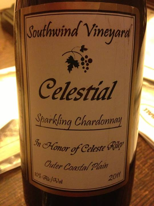 Southwind Vineyard & Winery – Celestial 2012 – Outer Coastal Plain