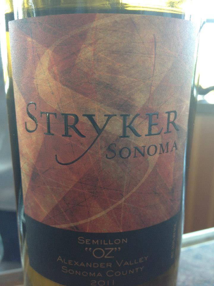 Stryker – Semillon « OZ » 2011 – Alexander Valley – Sonoma County