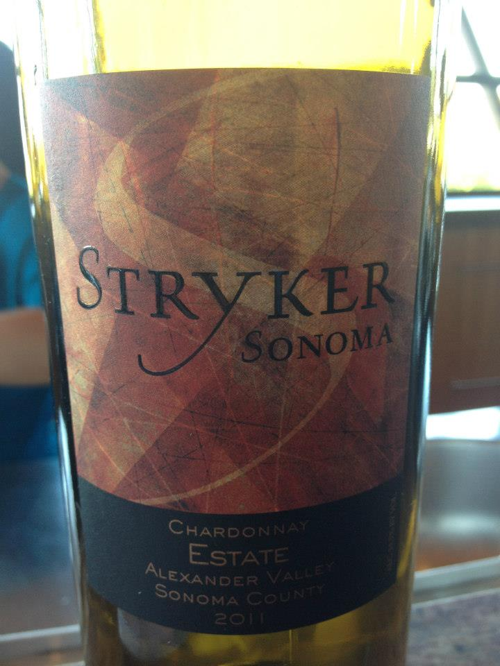 Stryker – Chardonnay 2011- Alexander Valley – Sonoma County