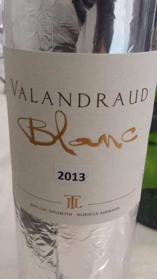 Valandraud Blanc – Bordeaux 2013