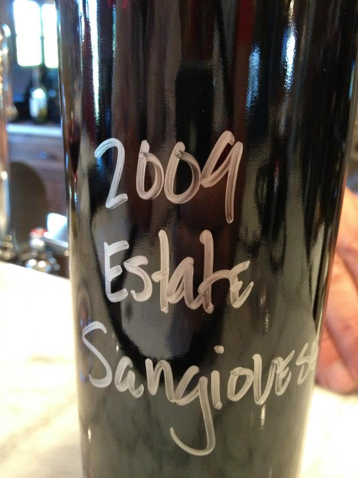 VJB Winery – Estate Sangiovese 2009 – Sonoma