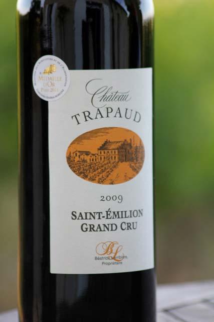 Chateau Trapaud – Saint-Emilion Grand Cru – 2009