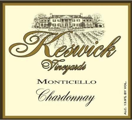 Keswick Vineyards – Chardonnay 2013 – Monticello