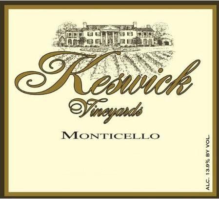 Keswick Vineyards – Reserve Chardonnay 2013 – Monticello